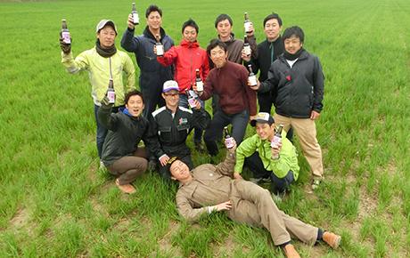 """日本テレビ「NEWS ZERO」にて、JA帯広大正の""""メークイン""""でつくった地ビールが紹介されました。"""