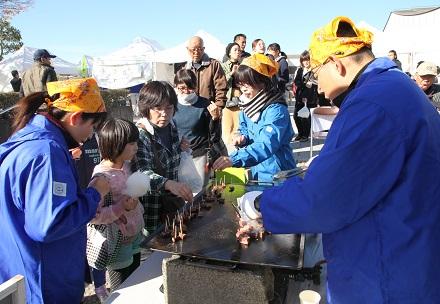 第27回 JA夢咲大城地区フェスティバルの写真