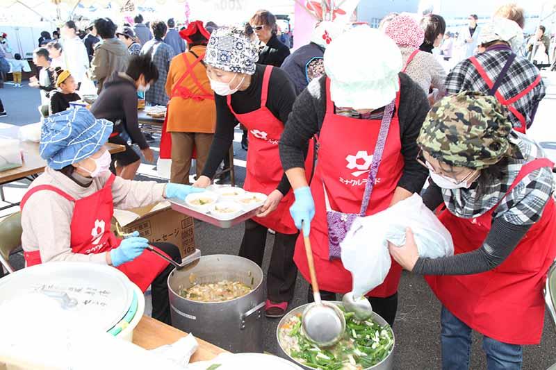第28回JA夢咲小笠フェスティバルの写真