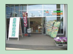 幕張農産物直売所 にんじん畑の写真