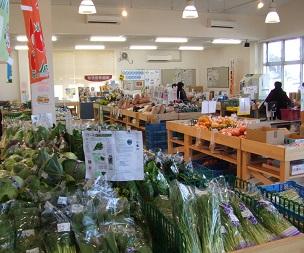 農産物直売所 「夢とりで」の写真