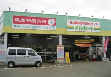 「ハマッ子」直売所 メルカートきた店の写真