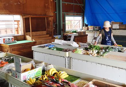 和島農産物直売所の写真