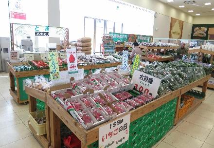 大平カインズモール直売所「愛菜果」の写真