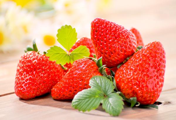 糖度の高いイチゴ