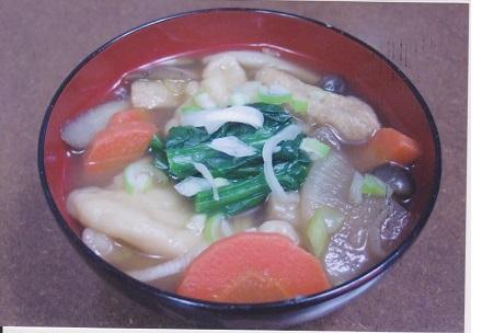 東久留米市の郷土料理!「煮ぃだんご」