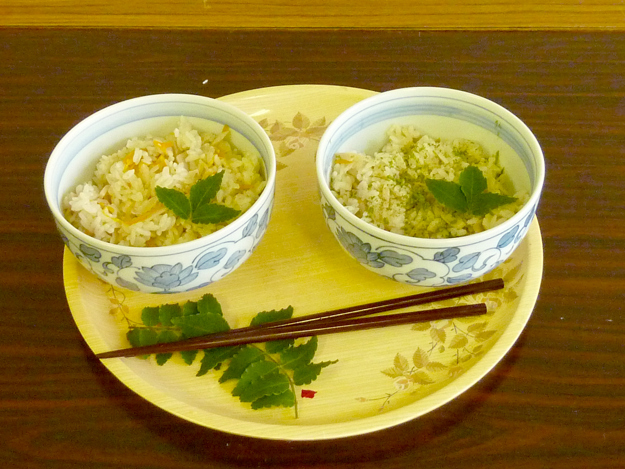 静岡県「新茶と竹の子ご飯」JA静岡市瀬名女性部