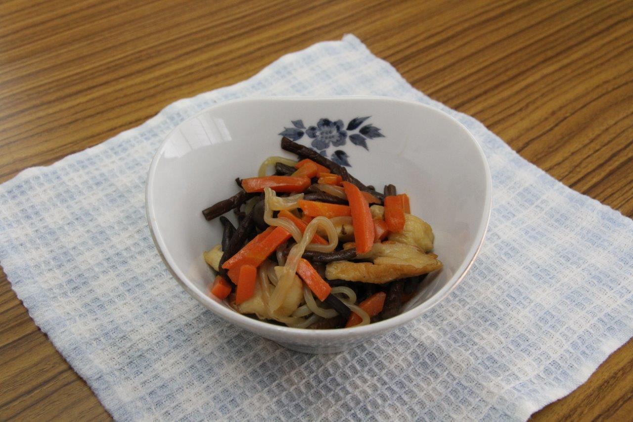 山形県「わらびの煮物 」JA山形おきたま女性部