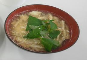 郷土料理 おぼろ汁 (宮城県 JAみどりの女性部)