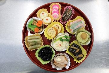 石川県「おせち料理」JAはくい女性部 中邑知支部