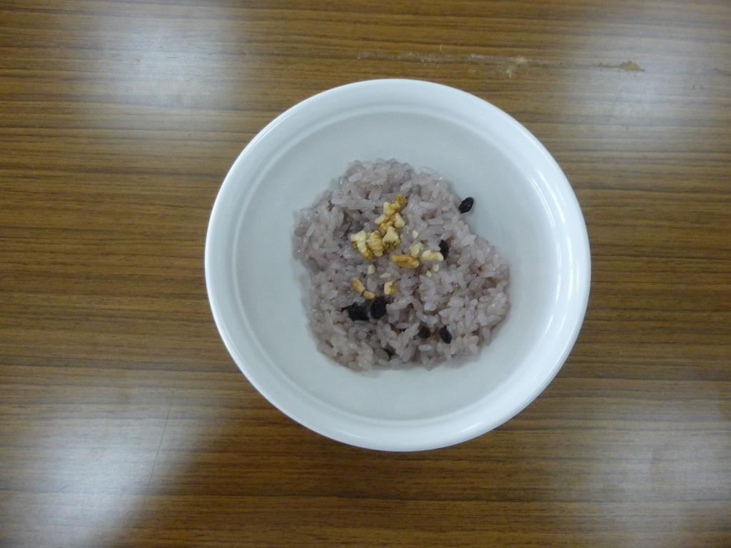 山ぶどうの赤飯(岩手県 JA新いわて女性部)