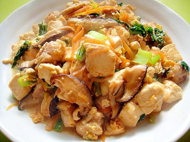 炒り 豆腐 レシピ