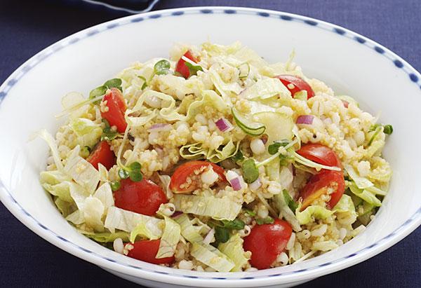 トマトの雑穀サラダ
