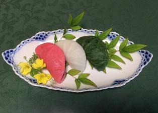 京都府「昔懐かしい米粉を使った三色団子」京都市農業協同組合