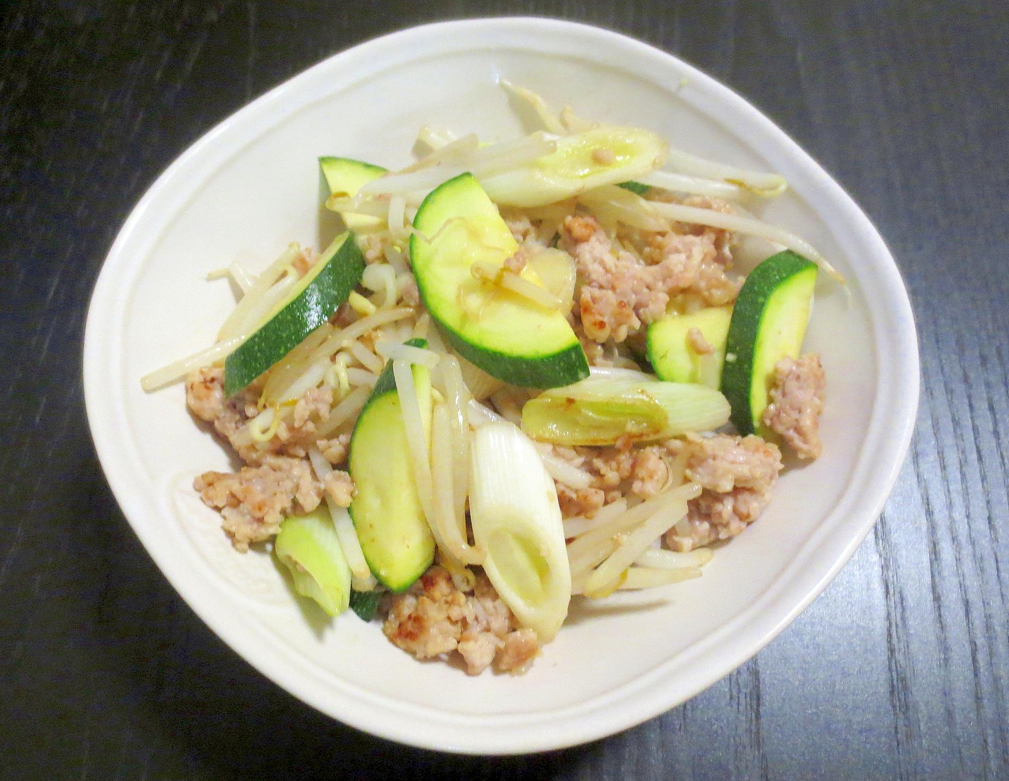 レシピ 炒め ズッキーニ