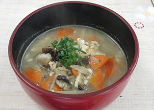 佐賀県「味噌仕立てのけんちん汁」JA佐賀市中央女性部
