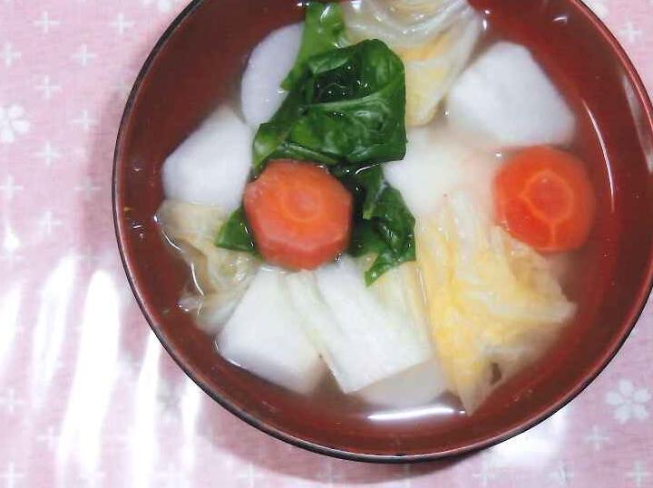 お雑煮(高知県 JA南国市女性部)