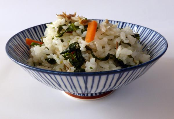 和歌山県「 春菜入りサバめし」JAわかやま女性会