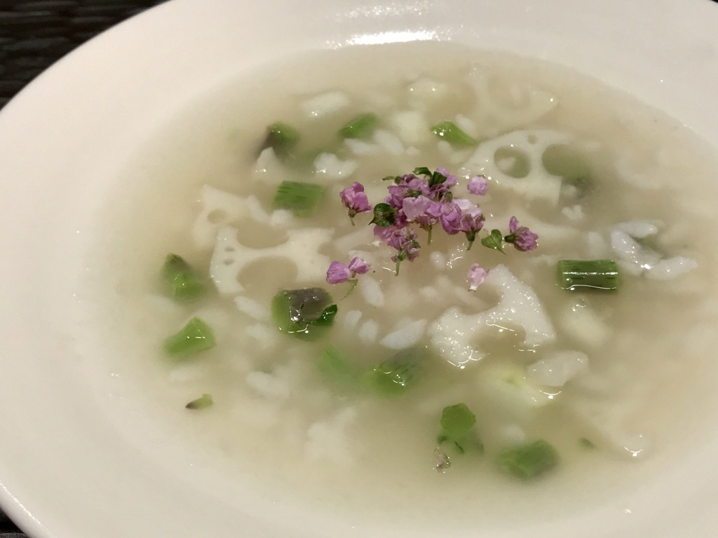 加賀野菜の夏スープ