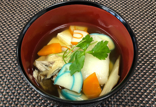 富山県「入善町に伝わる昔ながらの雑煮」JAみな穂