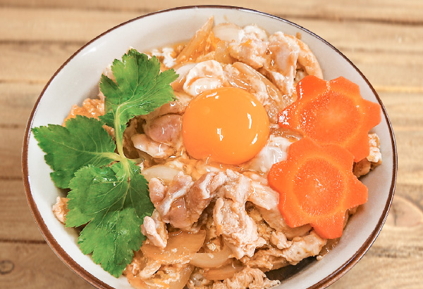茨城県「奥久慈シャモの親子丼」常陸農業協同組合女性部