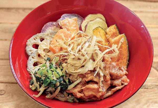 千葉県「カラフルvege豚丼」JA千葉女性部協議会