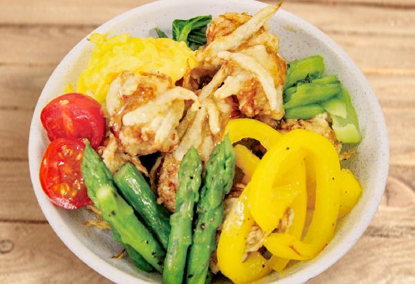 広島県「世羅やさいの鶏丼」JA尾道市女性部世羅支部