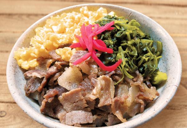 香川県「いのしし三食丼」JA香川県女性部