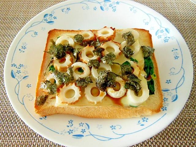 チーズ トースト 海苔