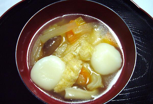 埼玉県「米粉の団子汁」JAほくさい女性部