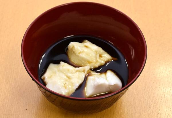 京都府「くず粉の黒蜜かけ」JA京都中央