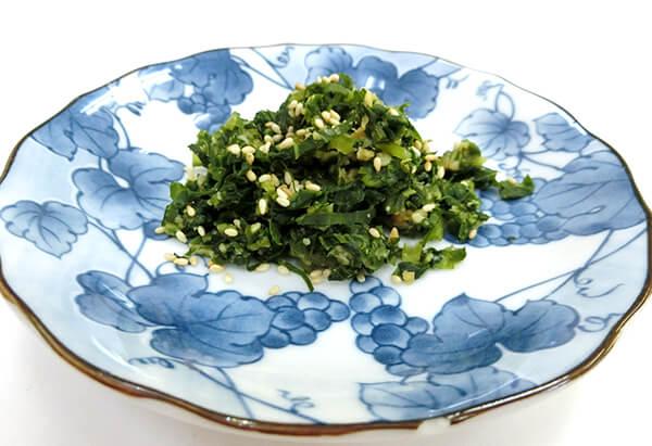 富山県「菜っぱのよごし」JAとなみ野女性部