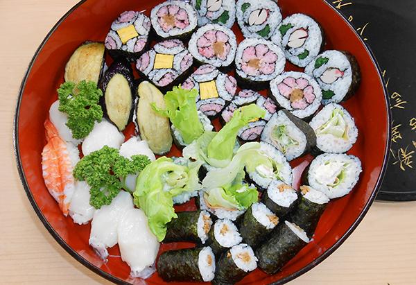 栃木県「飾り巻き寿司」JAしおのや女性会