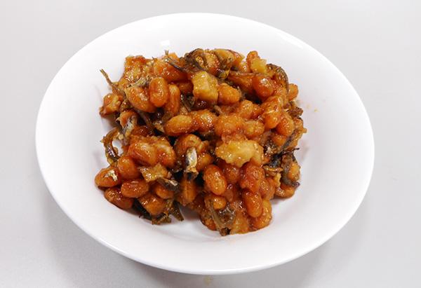 滋賀県「揚げ大豆とジャコとちくわのさっと煮」JA草津市女性部