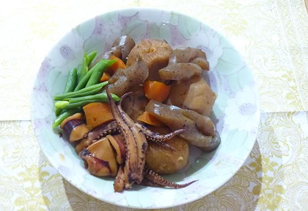 大阪府「里芋とイカの煮物」JAいずみの女性会 山滝支部