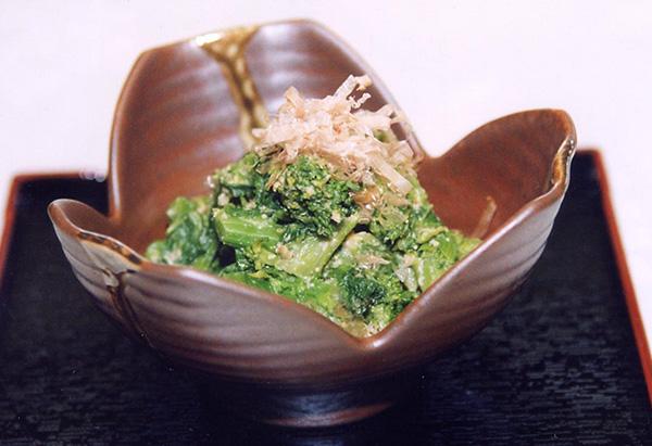 和歌山県「菜の花の梅味噌和え」JAわかやま女性会