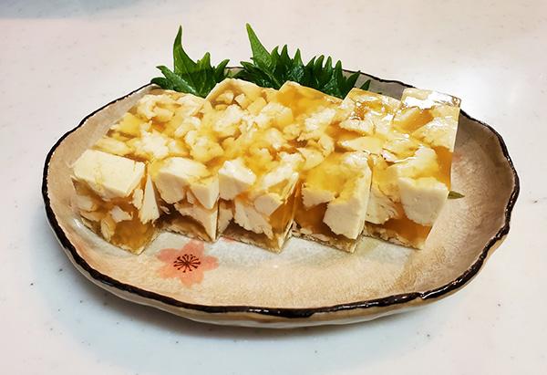 長野県「琥珀色の豆腐寄せ」 JA松本市女性部