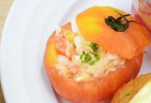 和歌山県「トマトのファルシー」JAわかやま女性会