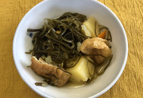 長野県「干し揚げと切り昆布の煮物」JA松本ハイランド女性部