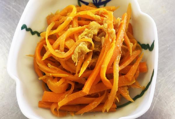 長野県「にんじんとツナの炒め物」JAながの女性部みゆき地区岡山支部