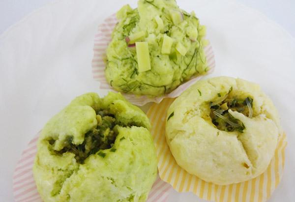 栃木県「にらまんじゅう」JAかみつが女性会