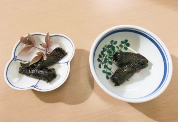 長野県「干し柿のしそ巻き」 JAながの女性部信州新町支部