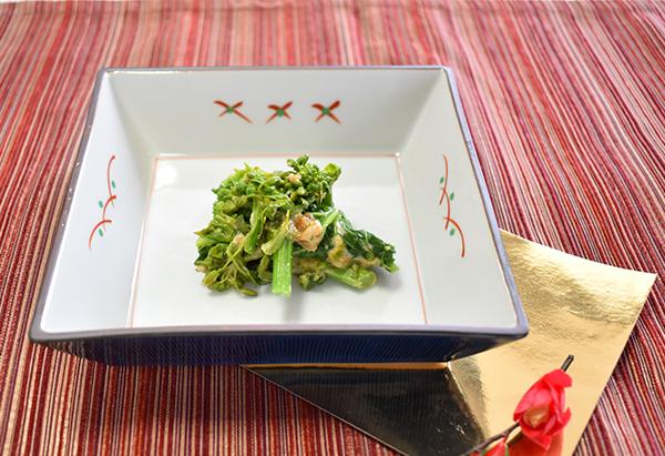 京都府「花菜のピーナッツ和え」JA京都中央女性部