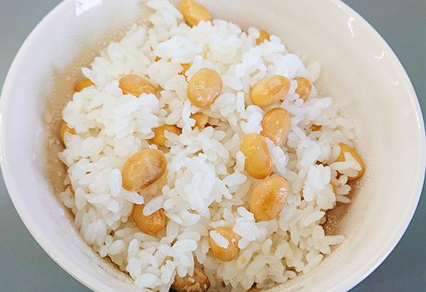 富山県「大豆ご飯」JAなのはな女性部