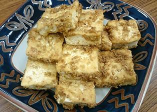 富山県「五箇山豆腐のゴマ味噌和え」JAなんと女性部