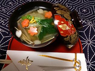 愛媛県「あん入りお雑煮(おせち料理)」JAえひめ中央 女性部
