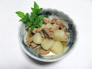 島根県「猪肉の大根煮」島根おおち女性部
