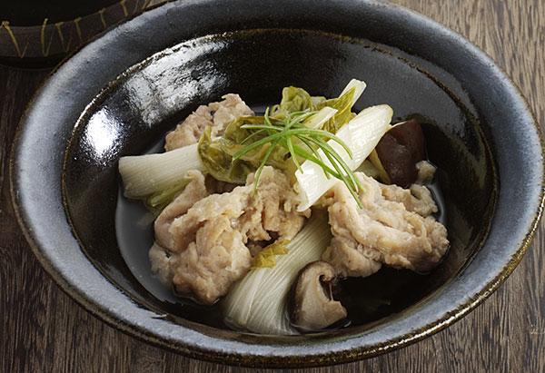 豚肉の山椒香味蒸し
