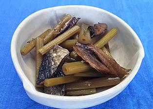 群馬県「ふきとニシンの煮物」JA嬬恋村 女性部