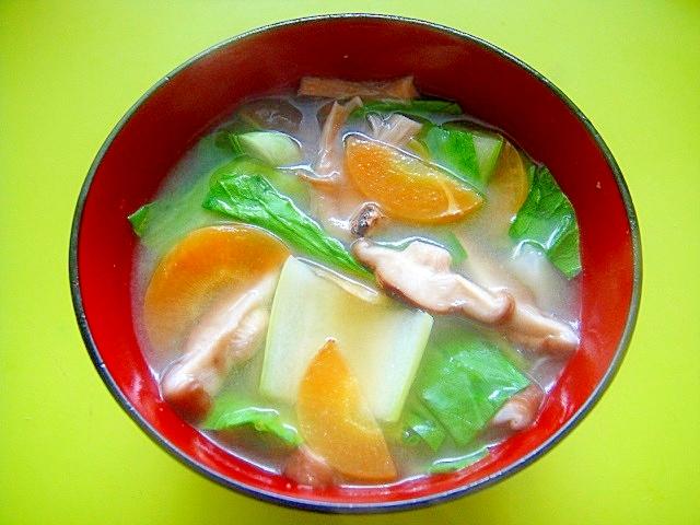 椎茸 味噌汁